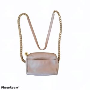 Nine West Small Pink Crossbody Leather Purse Bag
